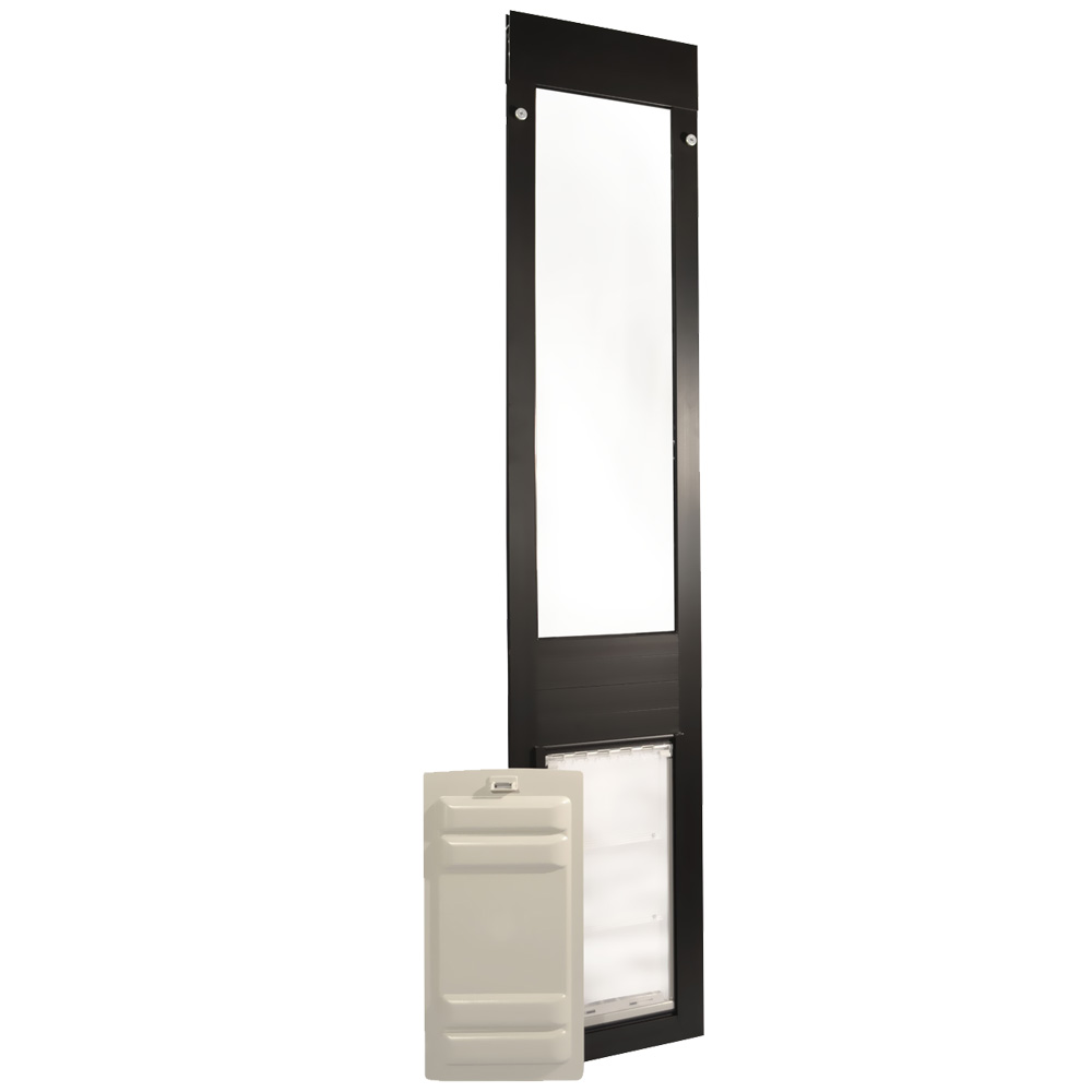 Endura Flap Pet Door - Thermo Panel 3e Bronze Frame - Extra Large (93.25