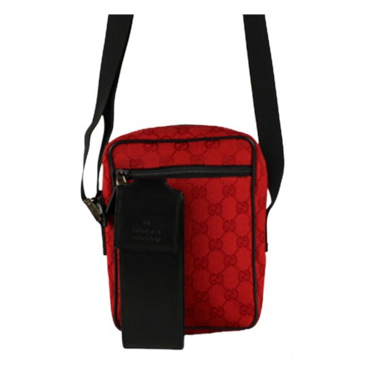 Gucci \N Red Cloth handbag for Women \N