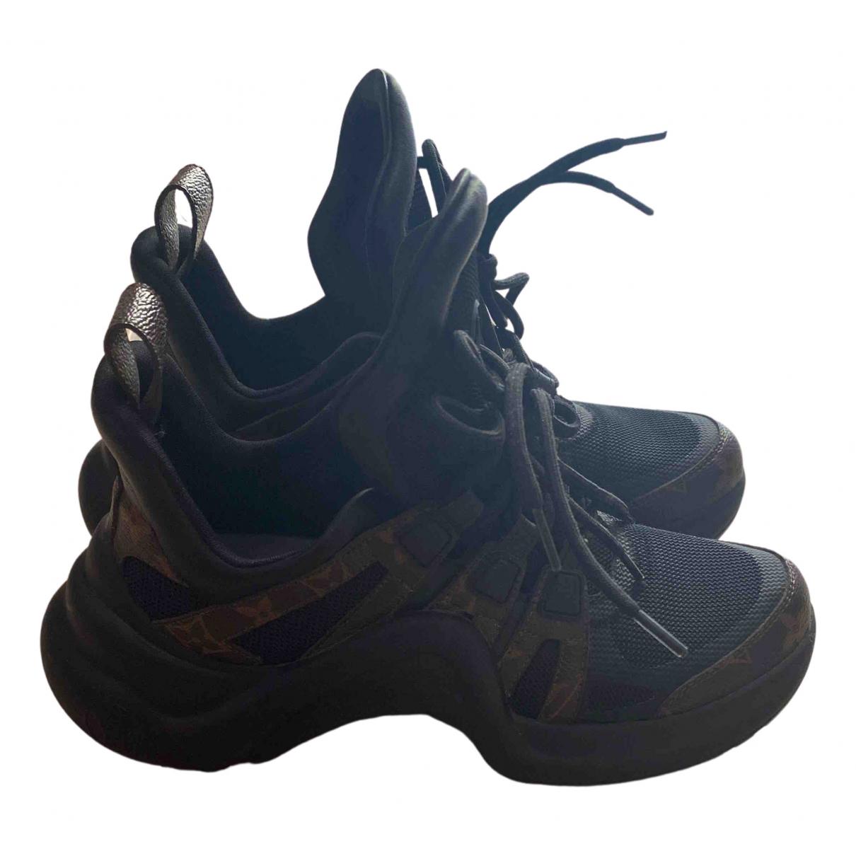 Louis Vuitton Archlight Sneakers in  Schwarz Leder