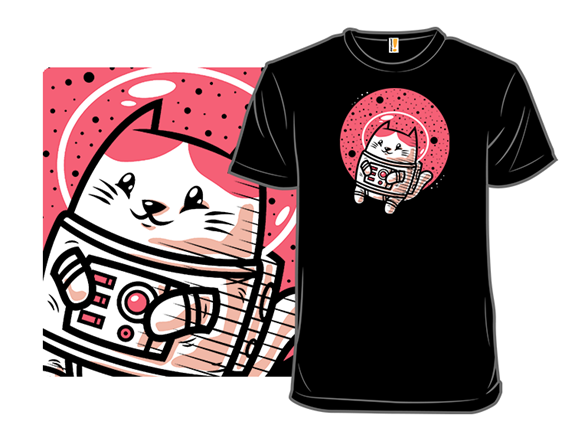 Space Kitty T Shirt
