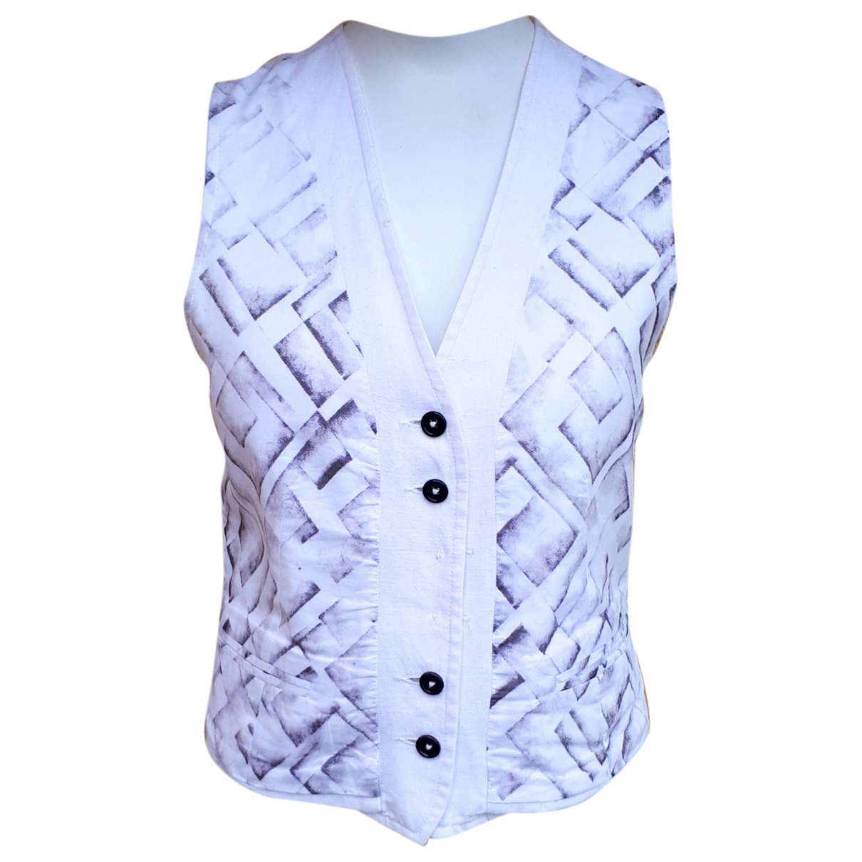 Ann Demeulemeester \N Grey Cotton Knitwear for Women 36 FR