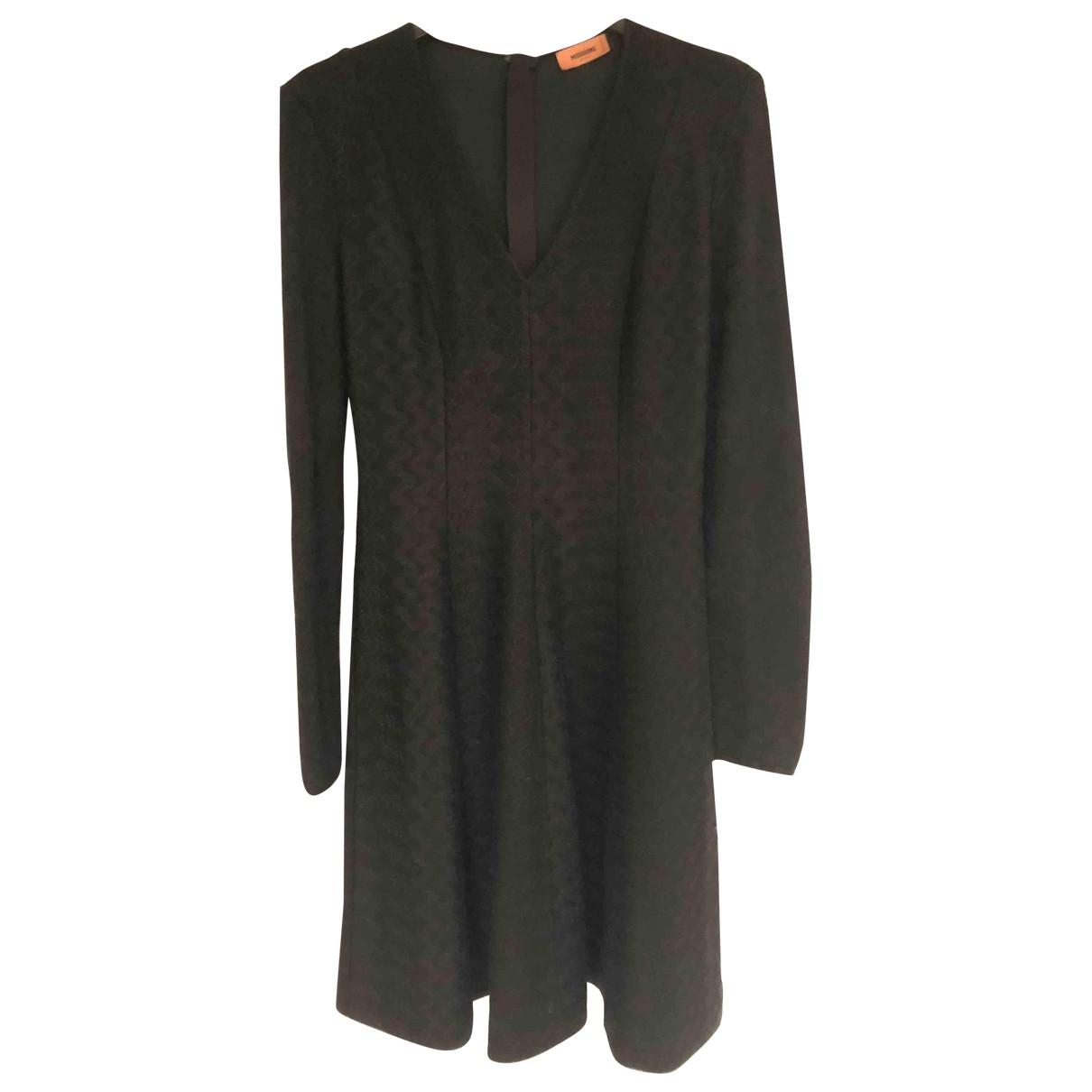 Missoni - Robe   pour femme en laine - noir
