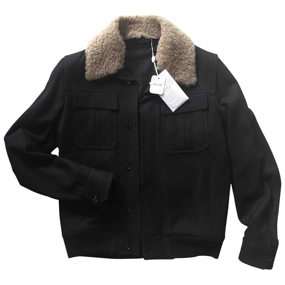 Maison Martin Margiela \N Black Cashmere jacket  for Men 46 IT