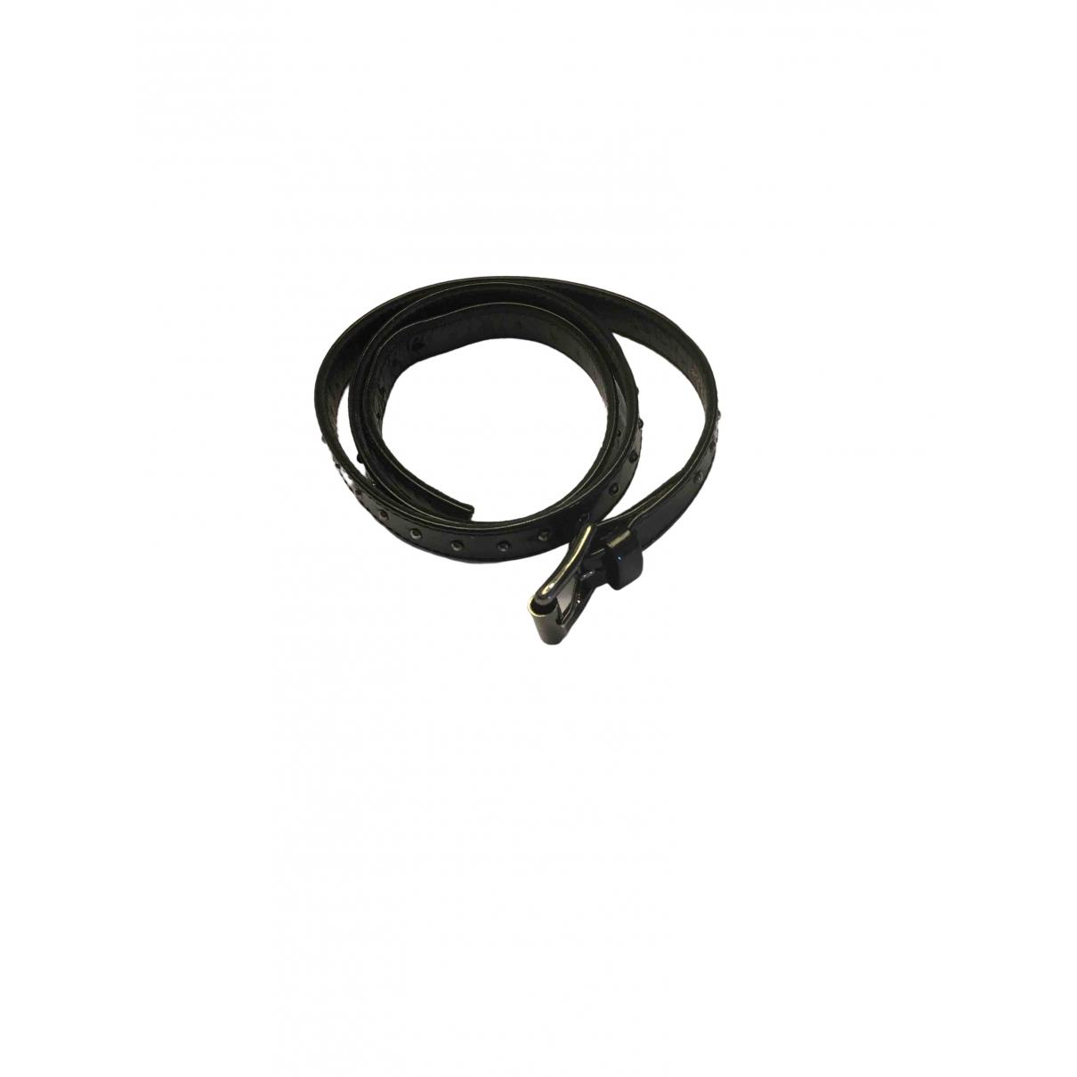 Gianvito Rossi - Bracelet   pour femme en cuir - noir