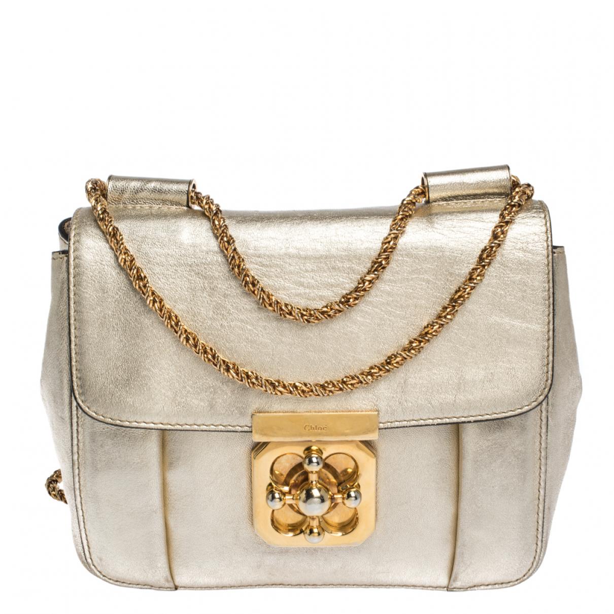 Chloé \N Metallic Leather handbag for Women \N