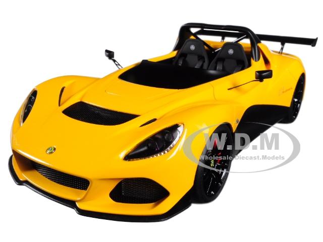 Lotus 3-Eleven Yellow 1/18 Model Car by Autoart
