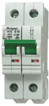 Kopp 32 A MCB Mini Circuit Breaker, 2P Curve B