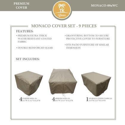 MONACO-09aWC Protective Cover Set  for MONACO-09a in