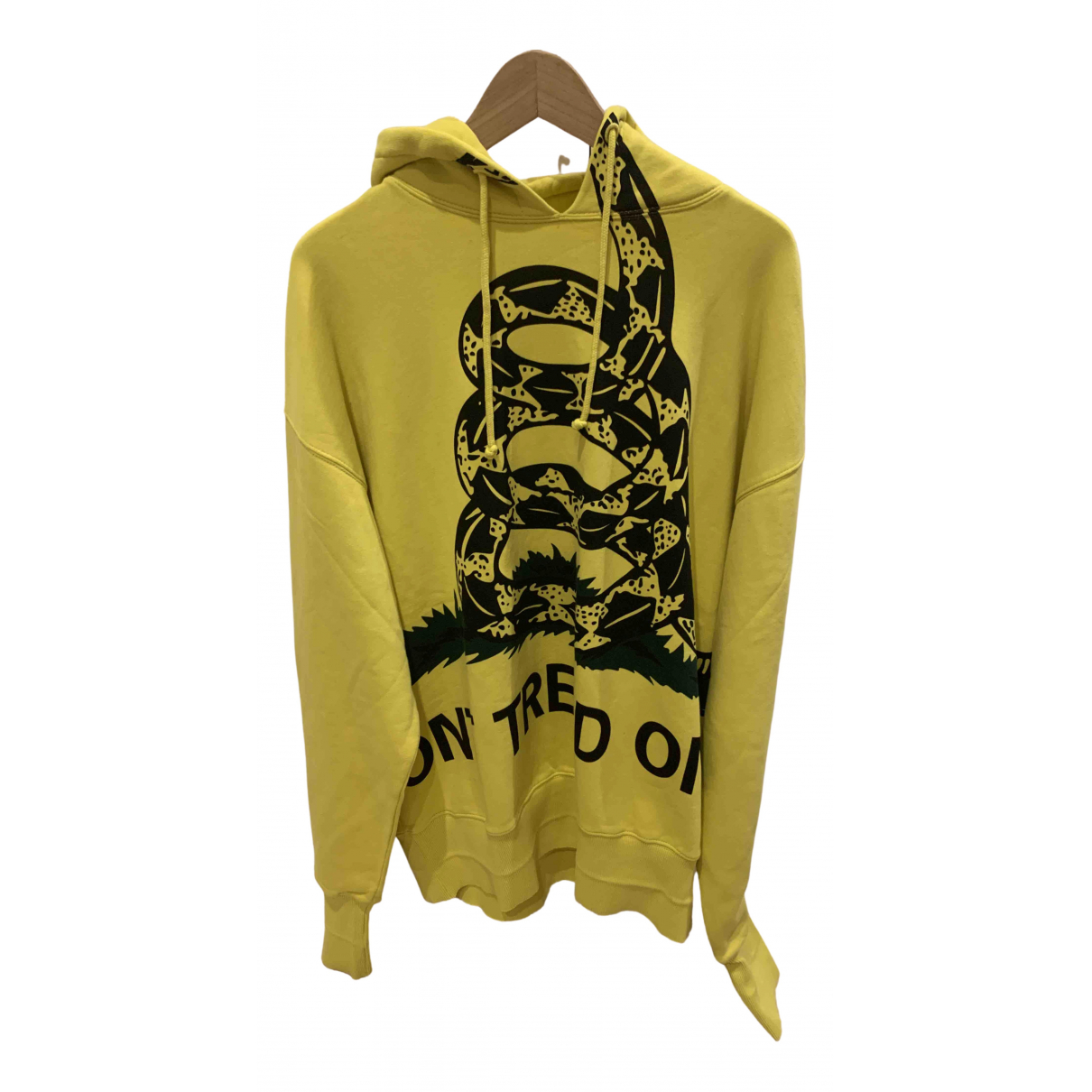 Vetements \N Yellow Cotton Knitwear & Sweatshirts for Men M International