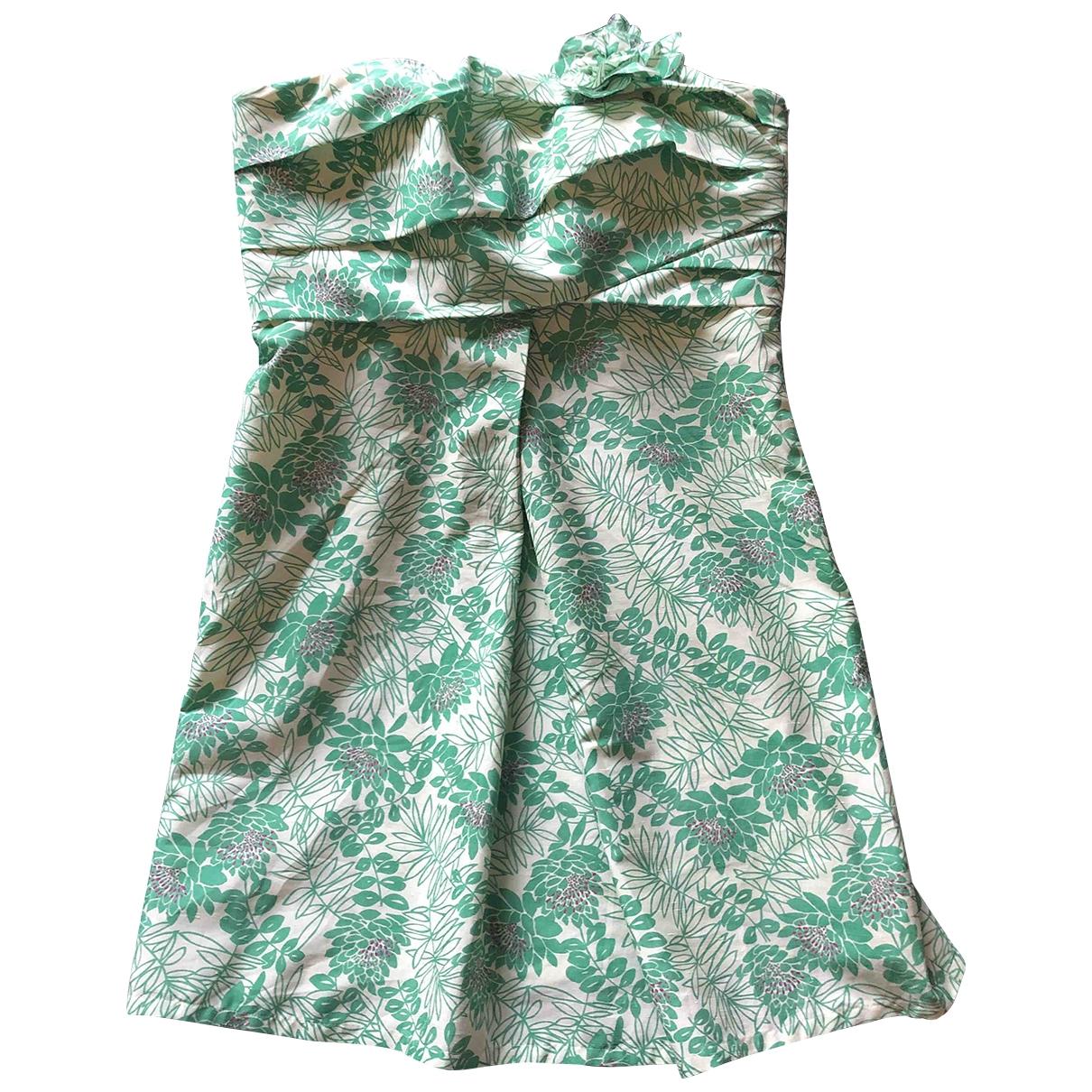 Vera Wang \N Kleid in  Bunt Polyester