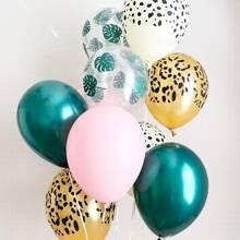 10 Stuecke Dekorballon Set