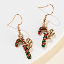 1pair Christmas Drop Earrings