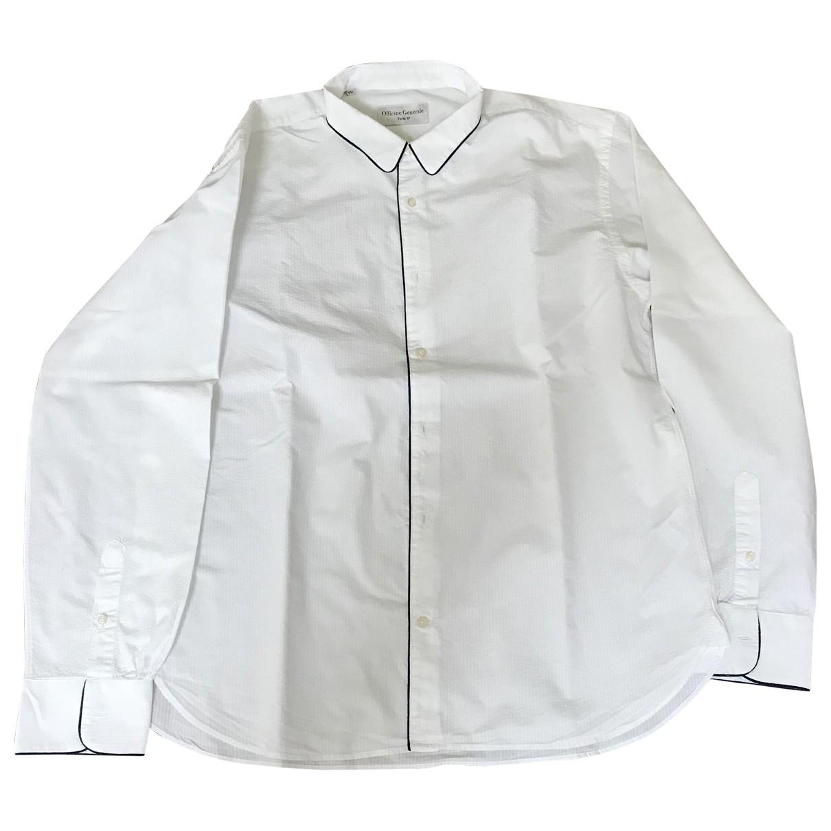Officine Generale \N Hemden in  Weiss Baumwolle