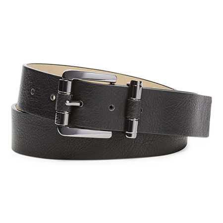 Mixit Covered Buckle Belt, X-large , Black