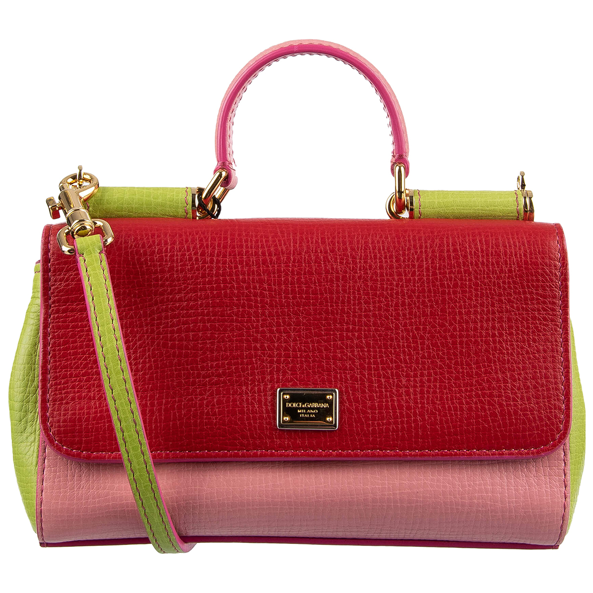 Dolce & Gabbana Sicily Red Leather handbag for Women \N