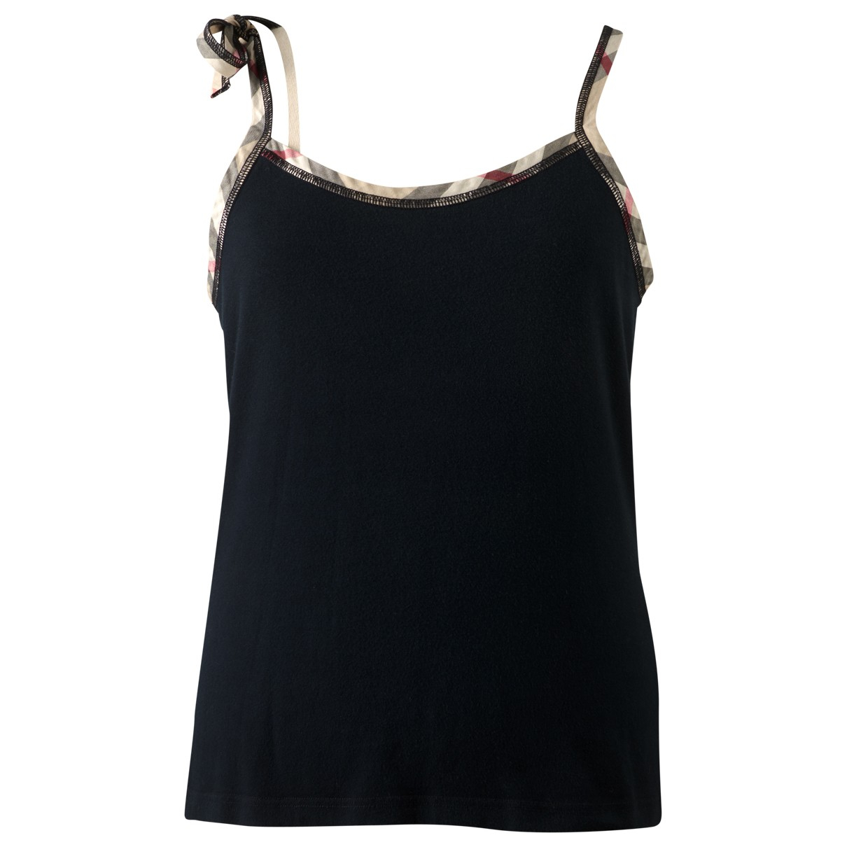 Burberry \N Black Cotton  top for Women M International