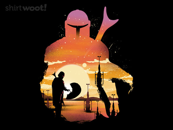 Mandalorian Sunset T Shirt