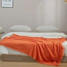 1 Stueck einfarbige Decke