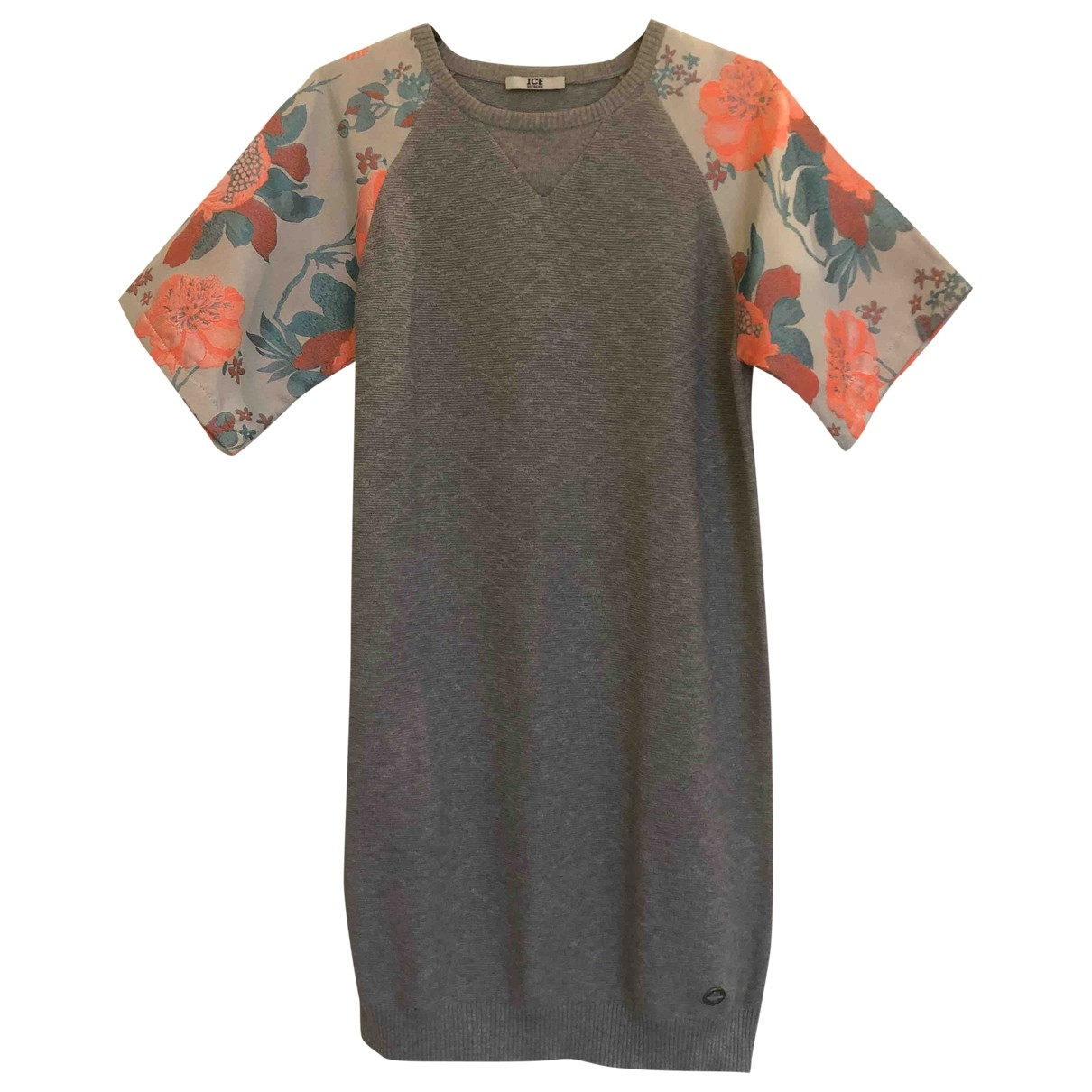 Iceberg \N Grey Cotton Knitwear for Women XS International