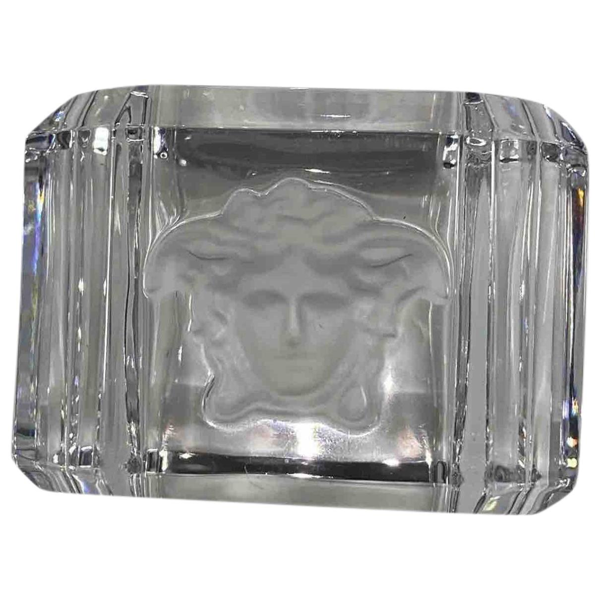 Gianni Versace - Arts de la table   pour lifestyle en cristal - blanc