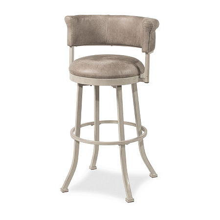 Westport Swivel Counter Stool, One Size , White