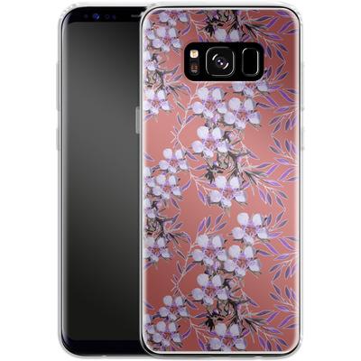 Samsung Galaxy S8 Silikon Handyhuelle - Inaya von Zala Farah