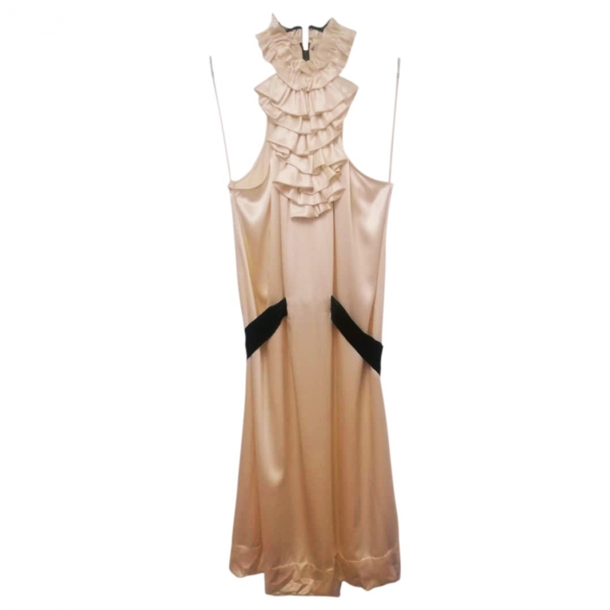 3.1 Phillip Lim \N Gold Silk dress for Women 4 US
