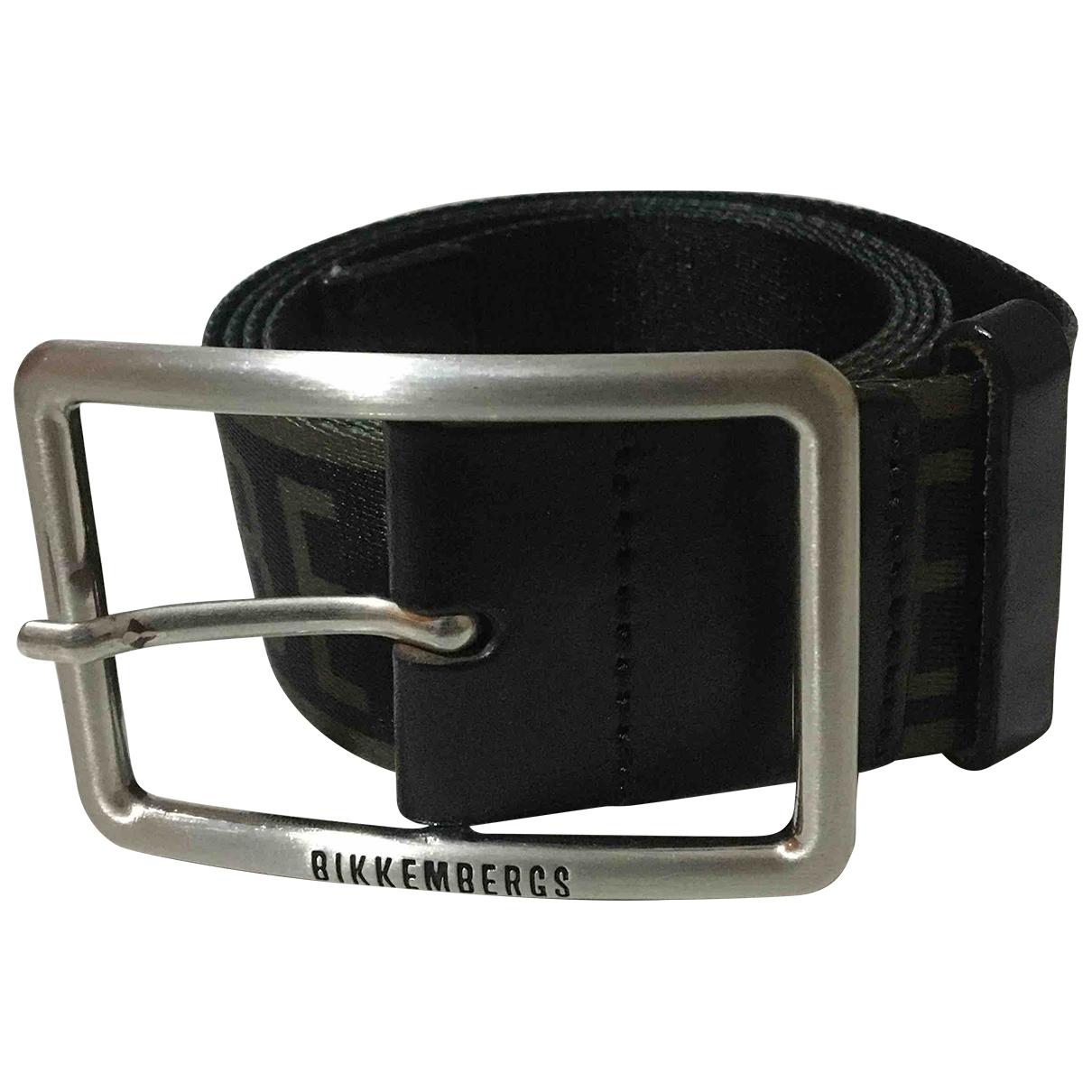 Cinturon de Lona Dirk Bikkembergs