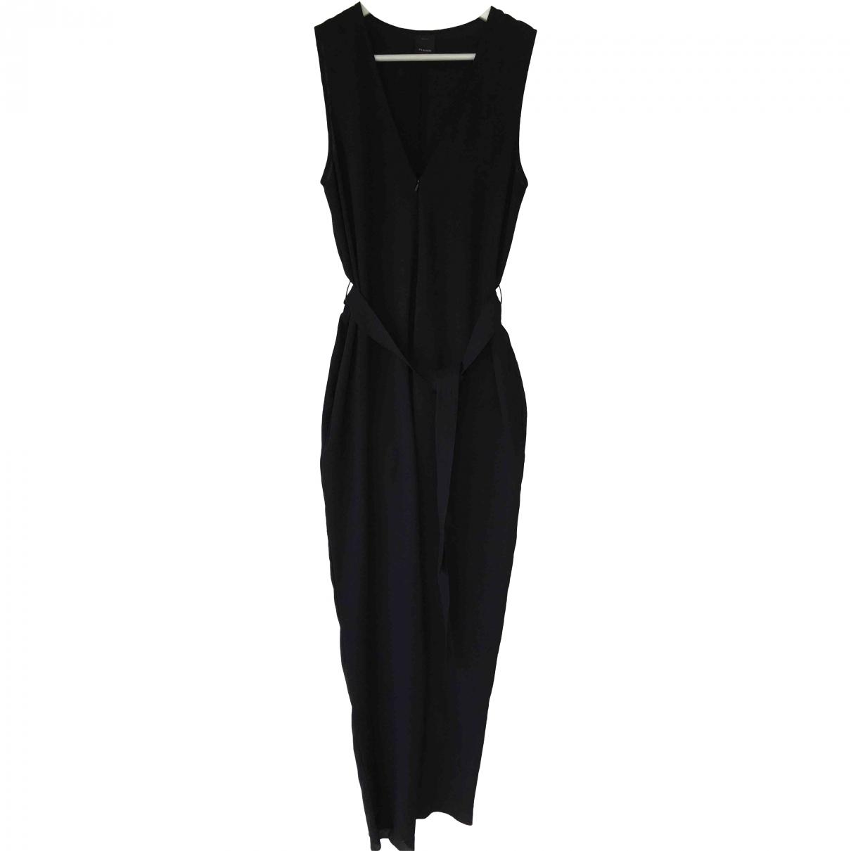 Pinko \N Black Cotton jumpsuit for Women 44 IT
