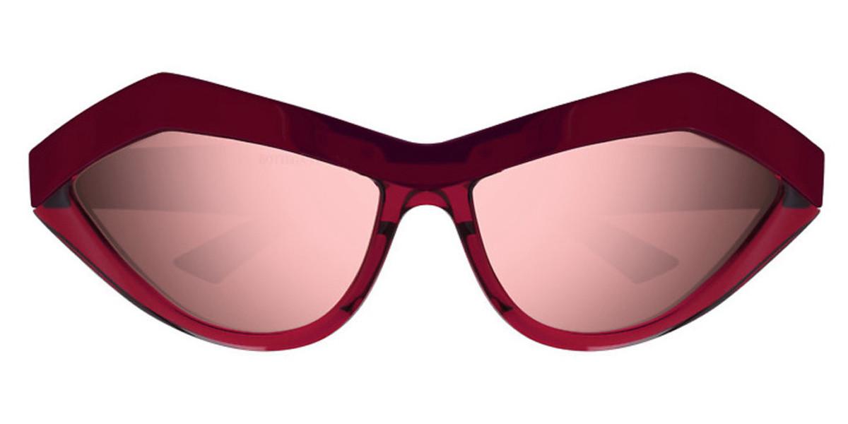 Bottega Veneta BV1055S 005 Men's Sunglasses Red Size 62