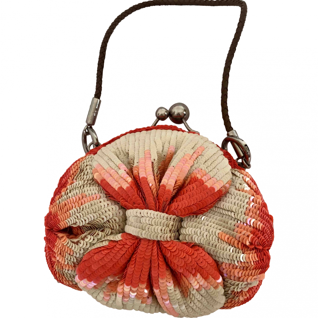 Jamin Puech \N Orange Glitter handbag for Women \N