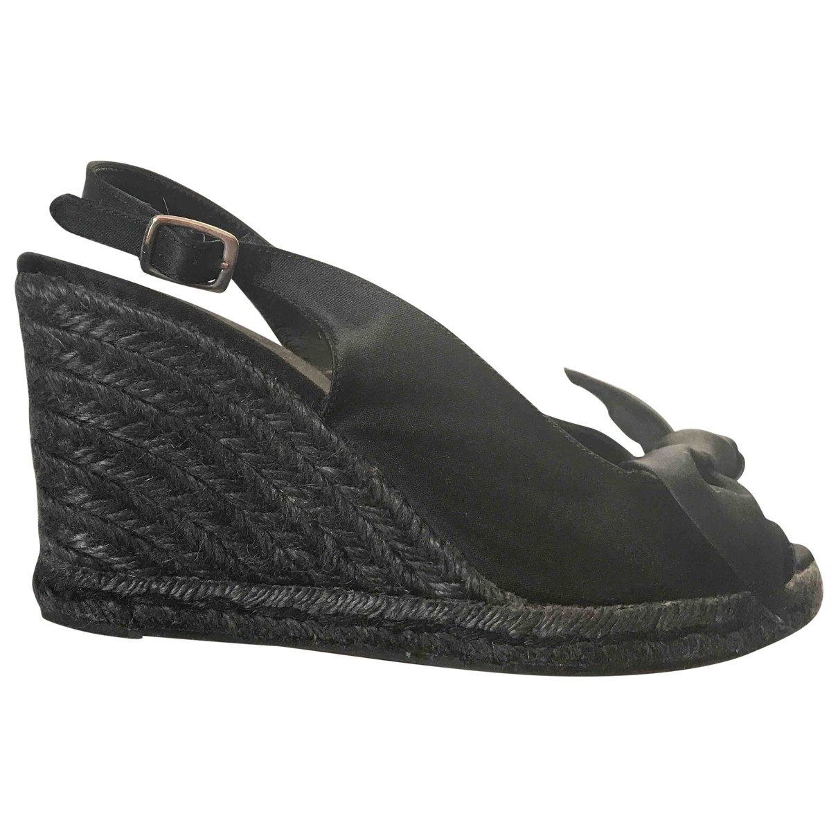 Castaner \N Black Cloth Sandals for Women 37 EU