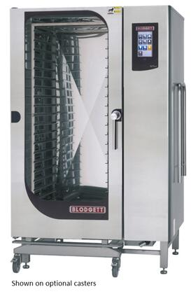 BLCT202G Roll-in Gas Boilerless Combination-Oven Steamer with Touchscreen Control  Multiple modes  Self cleaning system. Capacity: 15 sheet pans or