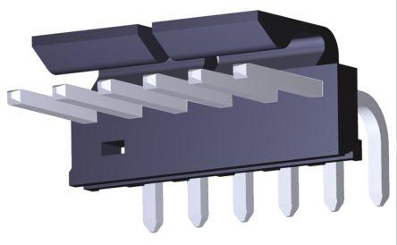 Molex , KK 396, 171814, 6 Way, 1 Row, Right Angle PCB Header (5)