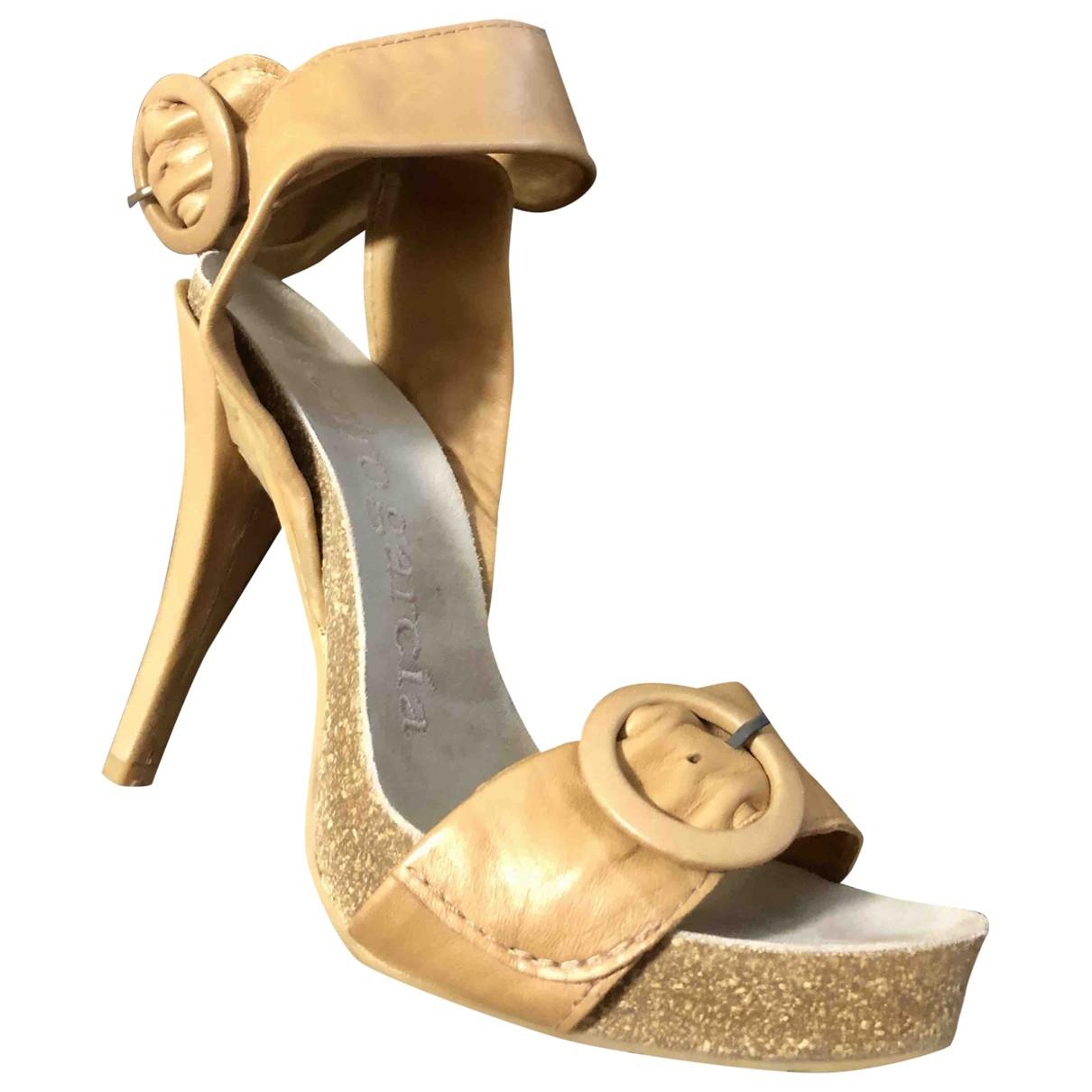 Sandalias romanas de Cuero Pedro Garcia