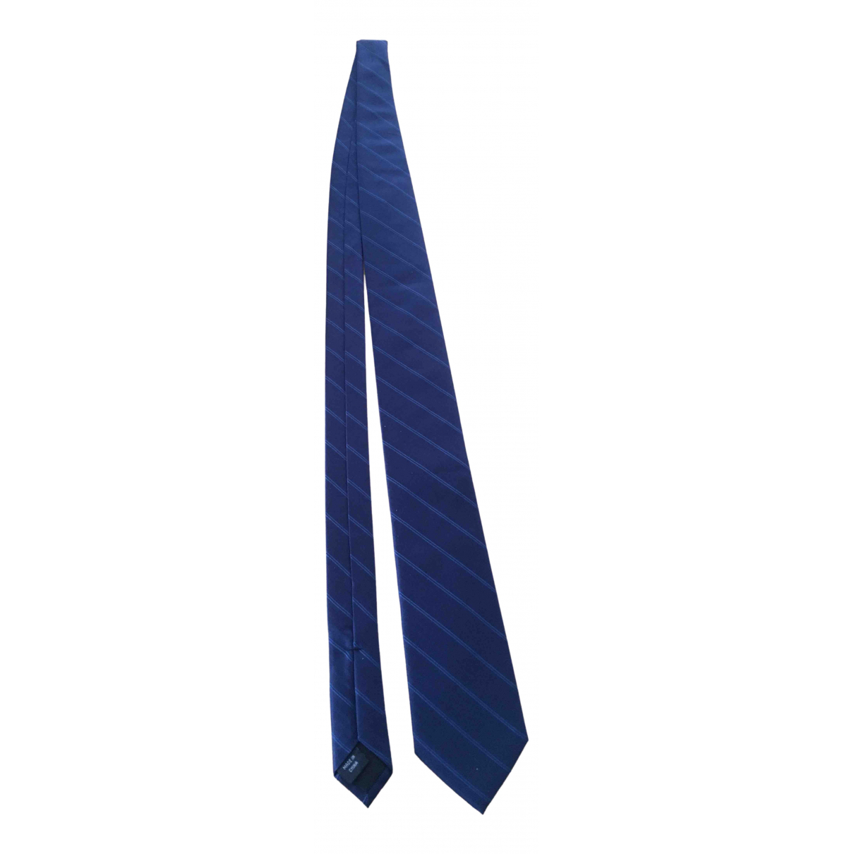 Calvin Klein \N Blue Silk Ties for Men \N