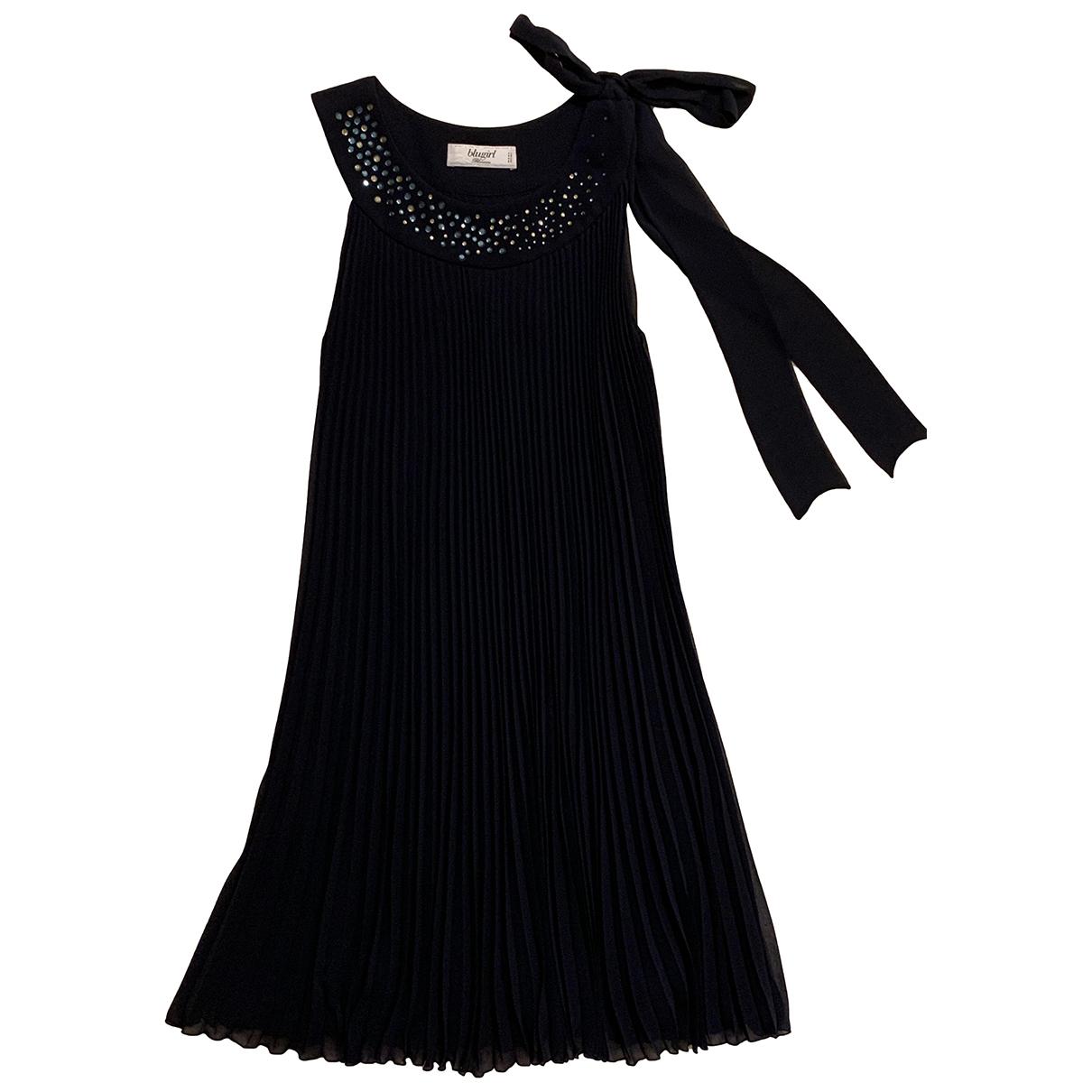 Blumarine \N Kleid in  Marine Polyester
