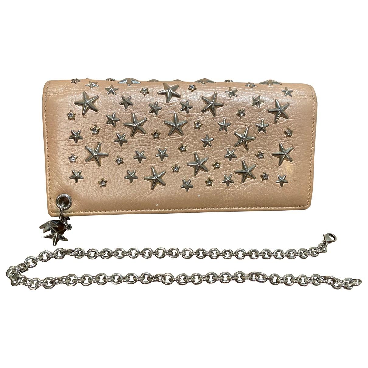 Jimmy Choo \N Pink Leather wallet for Women \N