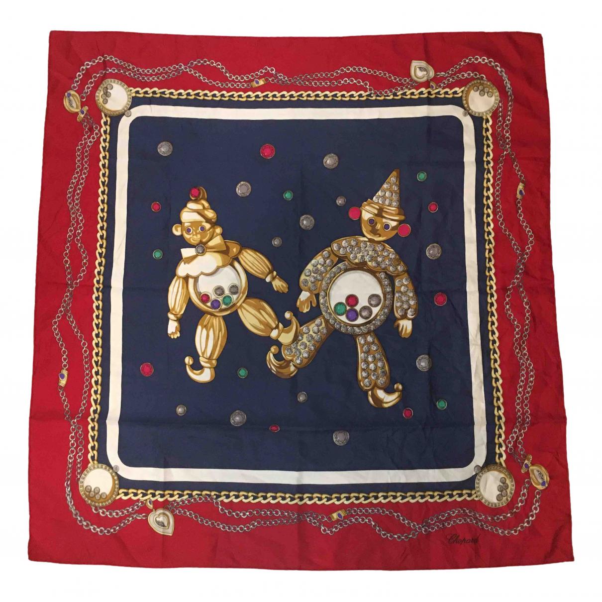 Chopard - Foulard   pour femme en soie - multicolore