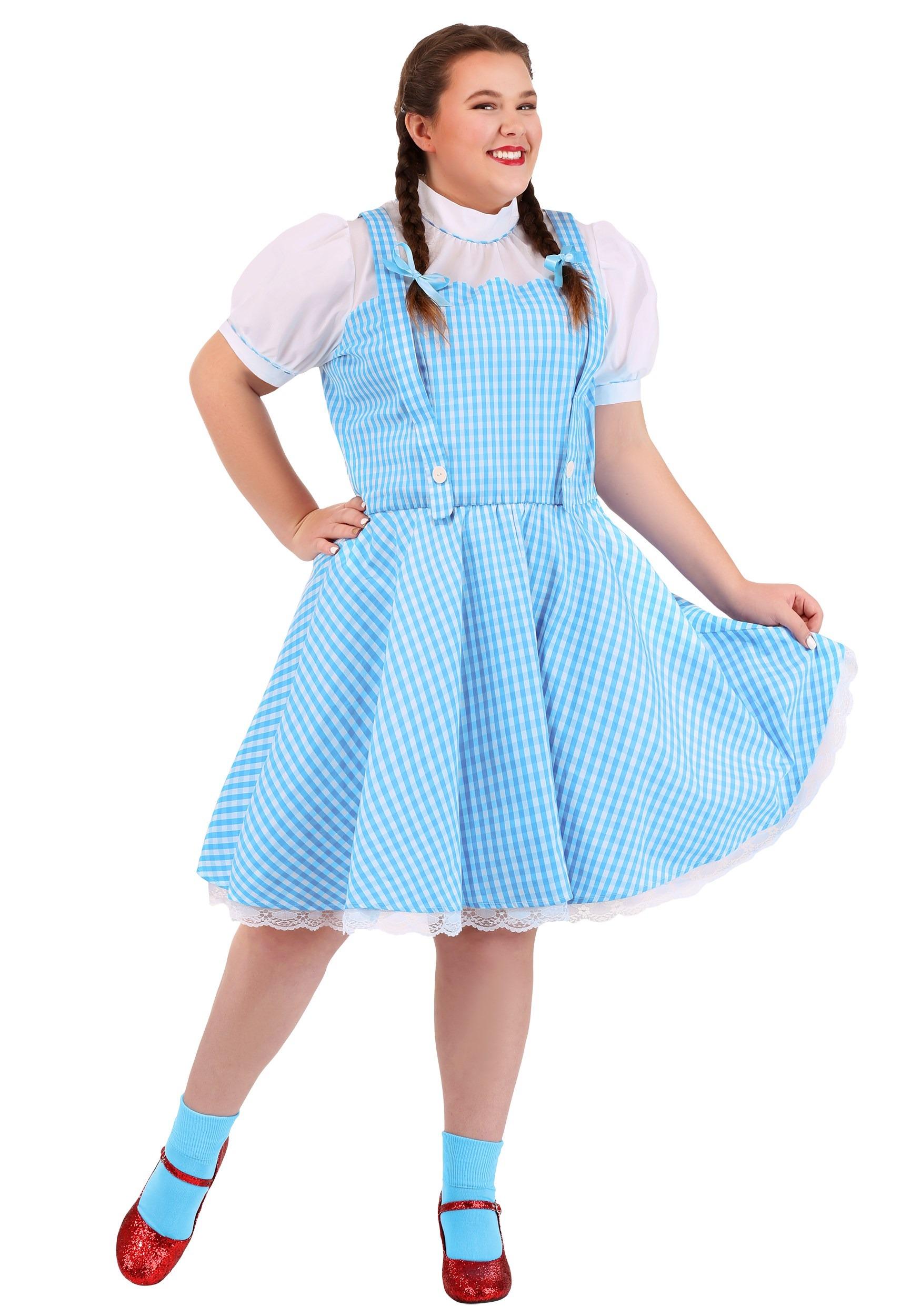 Wizard of Oz Dorothy Plus Size Costume