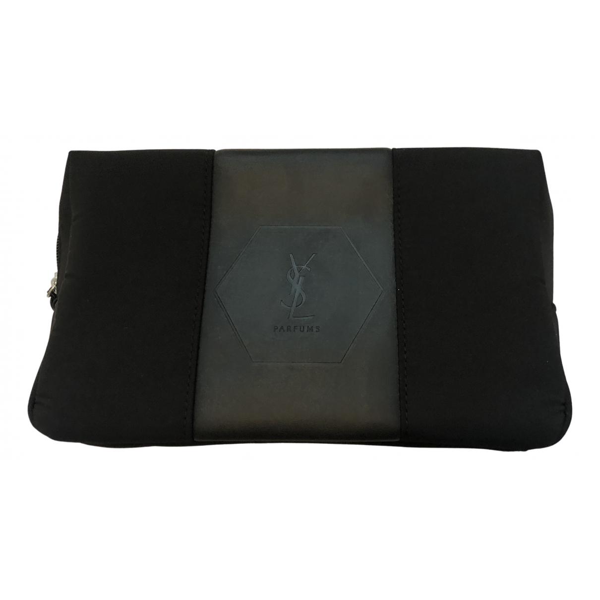 Yves Saint Laurent - Petite maroquinerie   pour homme en toile - noir