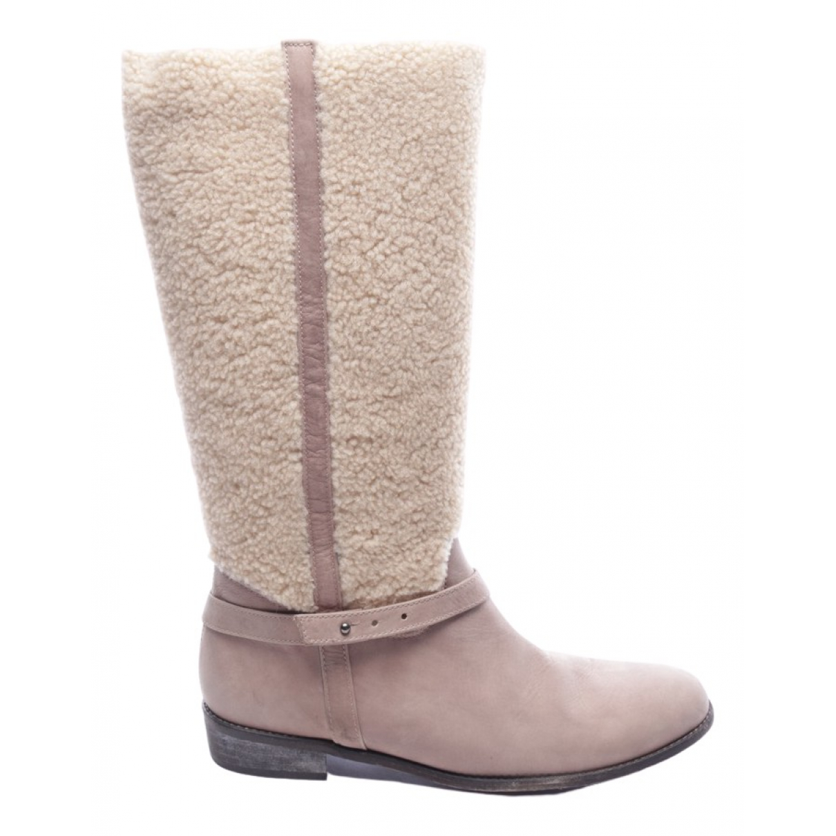Tatoosh \N Beige Leather Boots for Women 41 EU