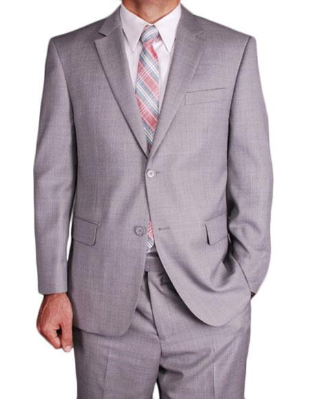 Mens Classic Single Breasted Giorgio Fiorelli Brsuits Flat Front Pants
