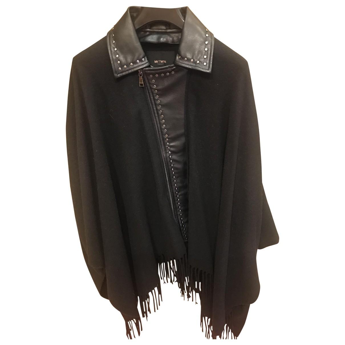 Twin Set \N Black Wool coat for Women M International