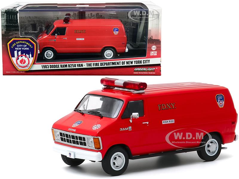 1983 Dodge Ram B250 Van Red
