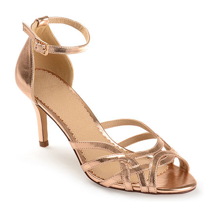 Journee Collection Womens Moyra Pumps Stiletto Heel, 8 1/2 Medium, Pink