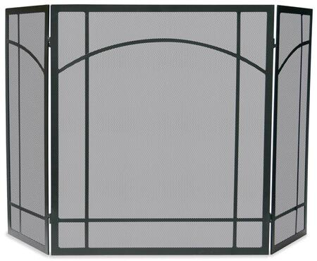 S-1023 3 Fold Black Wrought Iron Mission
