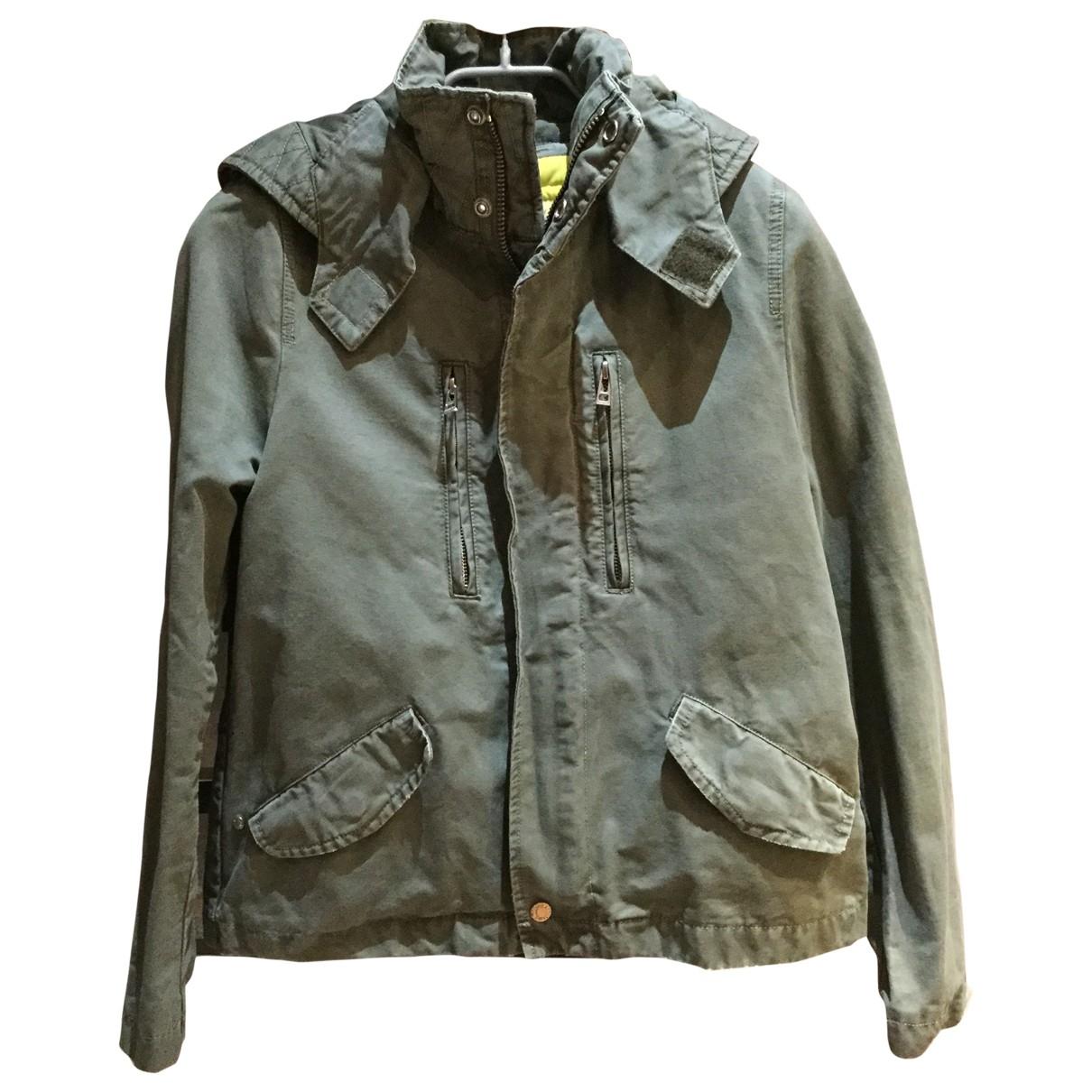 Zadig & Voltaire \N Khaki Cotton coat for Women M International