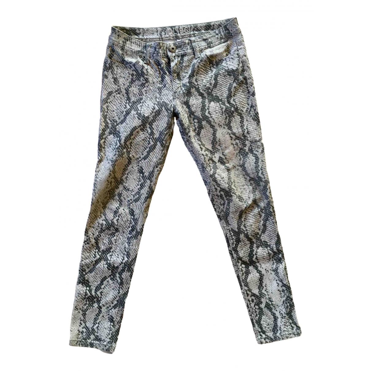Dl1961 \N Grey Denim - Jeans Trousers for Women 40 IT