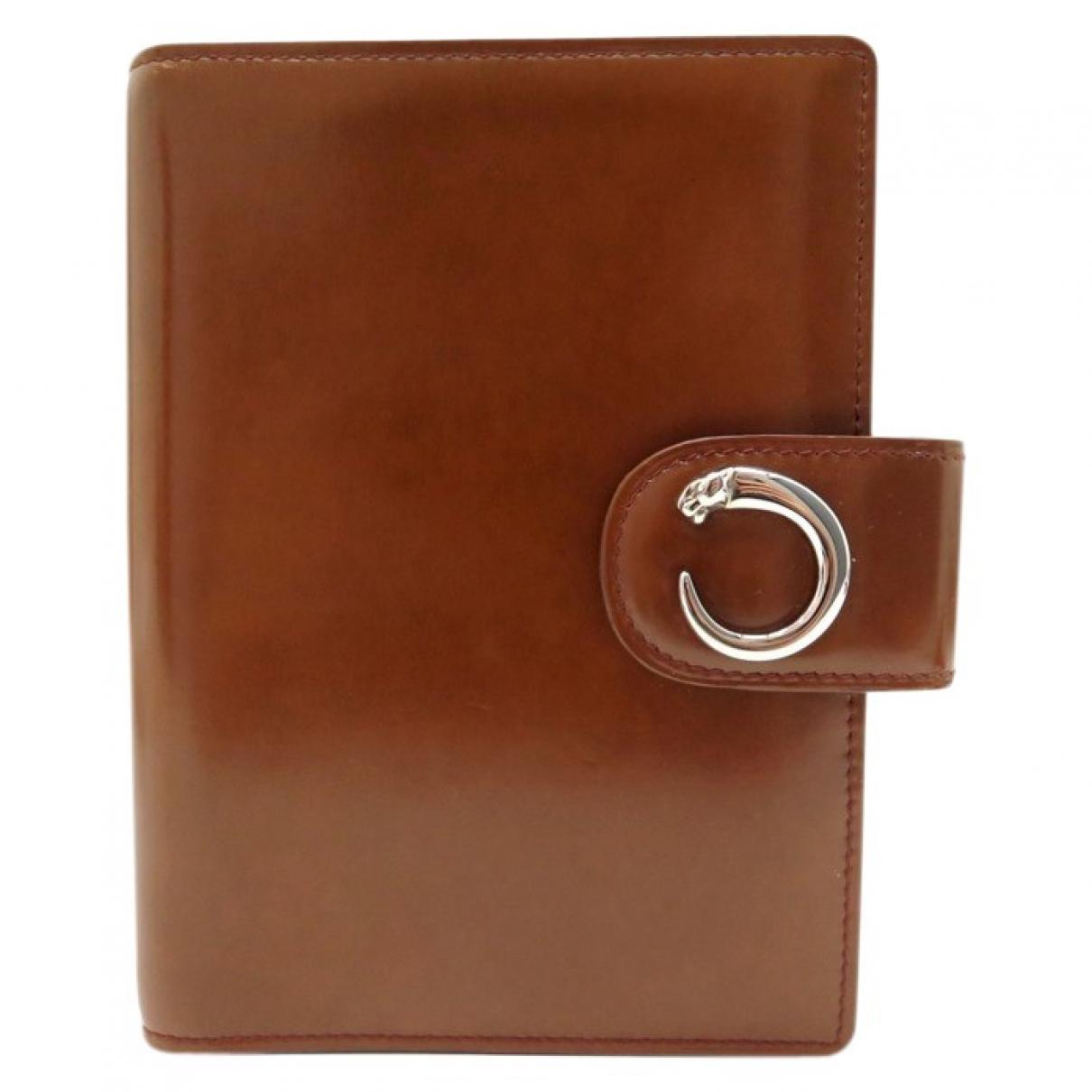 Cartier - Objets & Deco   pour lifestyle en cuir - marron